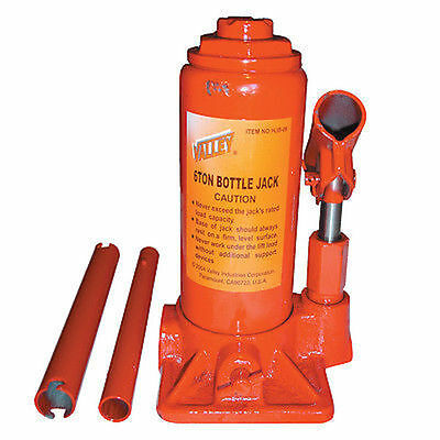 Valley HYDRAULIC BOTTLE JACK W1C10-HJB- 2  4 6 8 tonne each