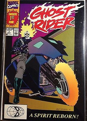Ghost Rider 1 (VF+) 1st appearance of Danny Ketch