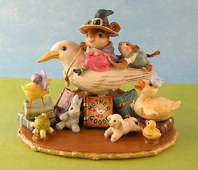 MOTHER GOOSE by Wee Forest Folk, Mouse Expo 2012 Event Piece
