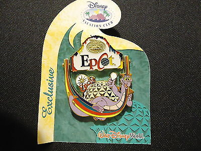 Disney Dvc Member Exclusive 2005 Collection Epcot Figment Pin On Card Le 5000