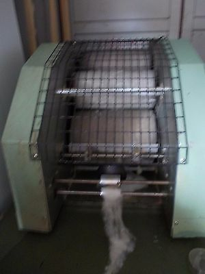 commercial wool carding machine