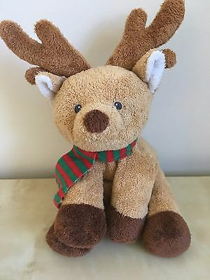 TY Pluffies Snuggery Reindeer Barnes & Noble Plush Lovey 2008 Stuffed Soft Toy