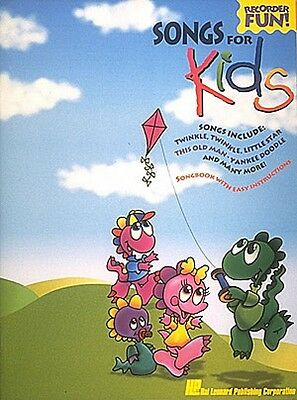 Songs for Kids Recorder NEW 000710392