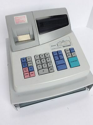 Sharp Electronic Cash Register XE-A101 Works Great No Key No Drawer