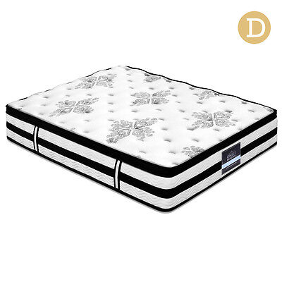 Double Euro Top Mattress – 34cm thick
