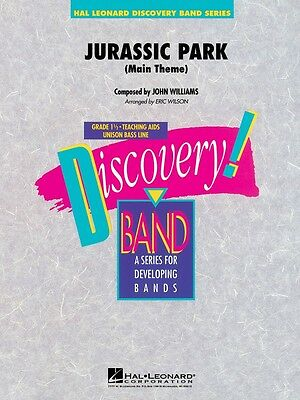 Jurassic Park Main Theme Discovery Concert Band NEW 008724354