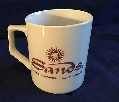 Sands Hotel Casino Las Vegas Coffee or Tea Mug / Cup - FREE SHIPPING!!!