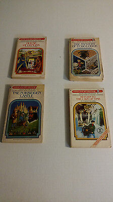 Choose Your Own Adventure Book Lot - 4 BOOKS TOTAL _80s!
