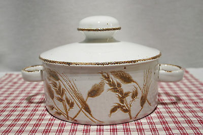 Midwinter Stonehenge WILD OATS 6 Cup Round Covered Casserole Mint!