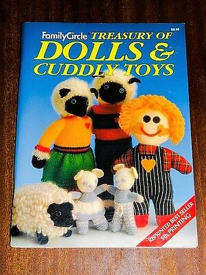 Family Circle Treasury of Dolls and Cuddly Toys Crochet/Knitting Pattern Book