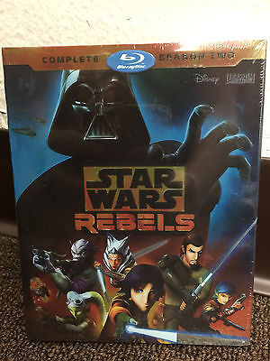 STAR WARS REBELS COMPLETE SECOND SEASON 2 TWO BLU RAY NEW Sealed