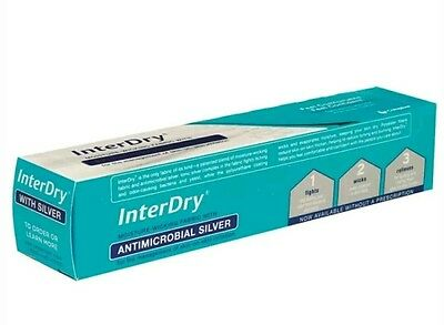 """InterDry Ag Dressing Cloth Textile with Silver Complex: 10"""" x 144"""" Exp 2017/18"""