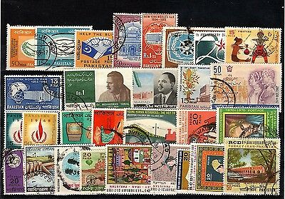 Pakistan, collection of used stamps