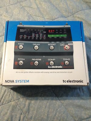 TC Electronic Nova Multi-Effects Guitar Effect Pedal