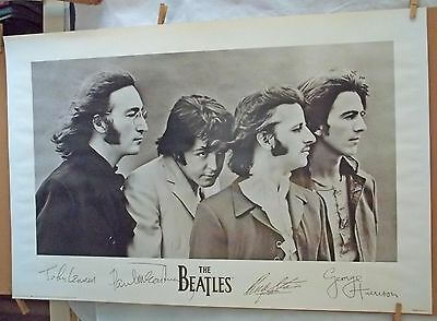 [P20] The Beatles 1991 Apple Corps Signatures In The Litho Acl603 Litho Usa