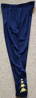 Central Coast Mariners Soccer Team Kappa Training Travel Track Pants Men XXL VGC