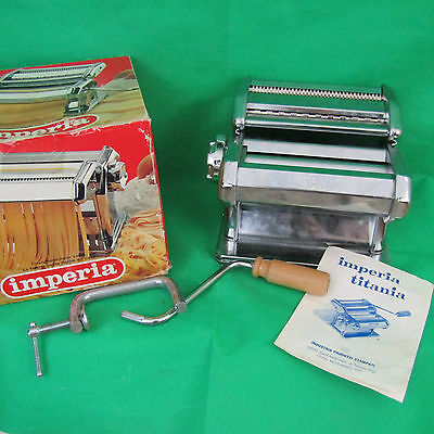 IMPERIA SP150 Tippo Luso Pata Maker Machine w/ Duplex Cutter Manual  VGC