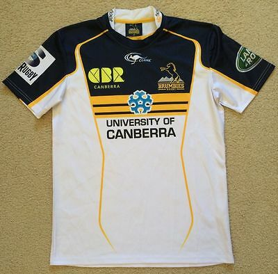 Brumbies Rugby Union Team Jersey - Classic - Mens Size M - VGC