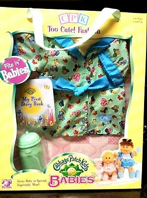 "CABBAGE PATCH KIDS Babies 14"" Doll Clothes NEW OUTFIT Perfect Gift for any girl!"