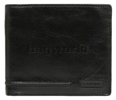 Cellini Men's Viper RFID Blocking Trifold Leather Wallet Black MH208