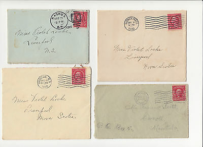 STAMPS: on cover // United States (USA) // SC#319 // SC#583++