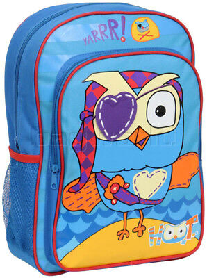 Giggle and Hoot Pirate Backpack Blue GH04