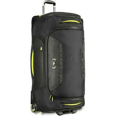 High Sierra AT8 Large 86cm Wheel Duffel Black 67933