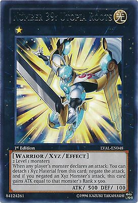 Number 39: Utopia Roots - LVAL-EN048 - Rare - 1st Edition - Yugioh