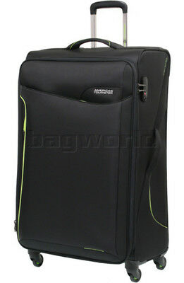 American Tourister Applite 2.0 Large 82cm Softside Suitcase Black 68054