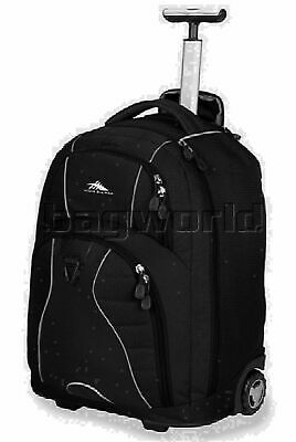 "High Sierra Freewheel 17"" Laptop Wheel Backpack Black 25521"