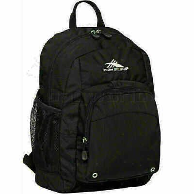 High Sierra Impact Backpack Black 53627