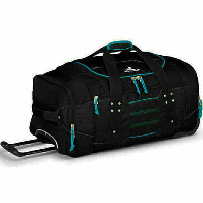 High Sierra Ultimate Access Medium 66cm Backpack Wheel Duffel Black 63608