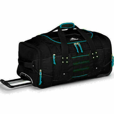 High Sierra Ultimate Access Medium 66cm Wheeled Backpack Duffle Black 63608