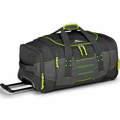 High Sierra Ultimate Access Medium 66cm Backpack Wheel Duffel Charcoal 63608