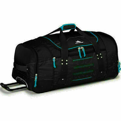 High Sierra Ultimate Access Large 76cm Wheeled Backpack Duffle Black 63609