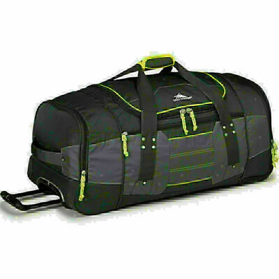 High Sierra Ultimate Access Large 76cm Backpack Wheel Duffel Charcoal 63609
