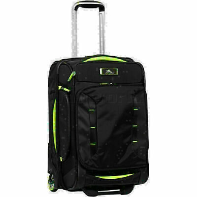 High Sierra AT8 Small/Cabin 54cm Backpack Drop Bottom Wheel Duffel Black 73227