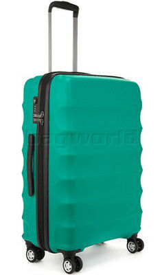 Antler Juno Medium 68cm Hardside Suitcase Teal 34923