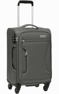 Antler Cyberlite II Small/Cabin 56cm Softside Suitcase Grey 39726