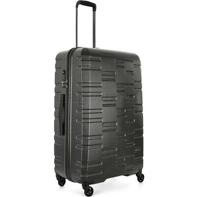 Antler Prism Embossed Large 76cm Hardside Suitcase Charcoal 40909