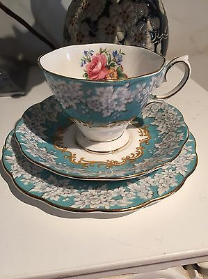 ** Sale**royal Albert Enchantment  Trio Cup Saucer And Plate Vintage