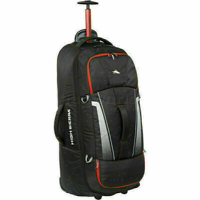High Sierra Composite V3 Large 84cm Backpack Wheel Duffel Black 87276