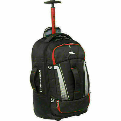 High Sierra Composite V3 Small/Cabin 56cm Backpack Wheel Duffel Black 87274