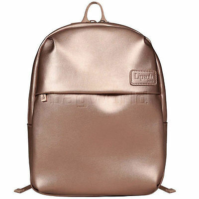 Lipault Miss Plume Extra Small Backpack Pink Gold 86109