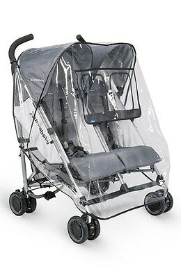 UPPAbaby G-Link Rain Shield Stroller Cover - Double the Coverage!