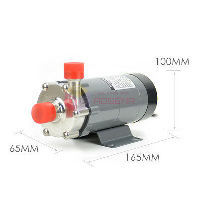 Magnetic Drive Pump 15R With 304 Stainless Steel Head Draft Beer Homebrew