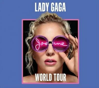 Lady Gaga concert ticket Joanne World Tour Montreal Centre Bell