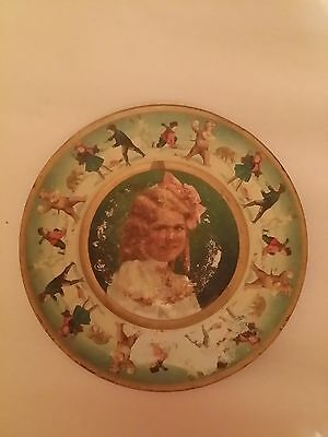 Antique THE UNION PACIFIC TEA CO Presented Copyright 1907 Advertising TIN PLATE