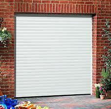 Electric Roller Garage Doors  (Fitted)