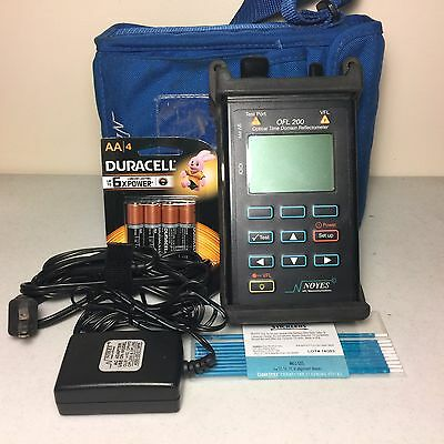 Noyes OFL200 OTDR Optical Time Domain Reflectometer 1550nm w/ Integrated VFL